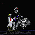 Bonnie And Clyde Poster 1967 Death Valley California 1968-2009 by David Lee Guss