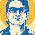 Bono Pop Art by Jim Zahniser