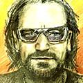 Bono - U2 by Marcello Cicchini