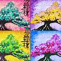 Bonsai Pop Art by Shawna Rowe