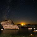 Bonsai Rock Lake Tahoe by Scott McGuire