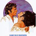 Boom, Us Poster, Richard Burton by Everett