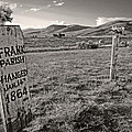 Boot Hill - Virginia City - Montana by Daniel Hagerman