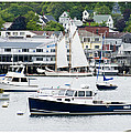 Boothbay Harbor by Gene Norris