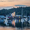 Boothbay Harbor Morning by Susan Cole Kelly
