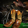 Boots And Bags by Bob Hislop