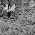 Boots And Horse Hooves by Dan Sproul