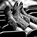 Boots Up - Bw by Christopher Holmes