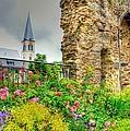 Boppard Garden Ruins by Linda Covino