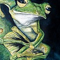 Boreal Flyer Tree Frog by Joey Nash