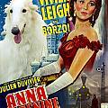 Borzoi Art - Anna Karenine Movie Poster by Sandra Sij