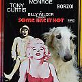 Borzoi Art - Some Like It Hot Movie Poster by Sandra Sij
