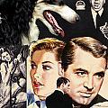 Borzoi Art - Suspicion Movie Poster by Sandra Sij