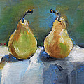 Bosc Pears by Becky Kim
