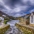 Boscastle Harbour by Chris Thaxter