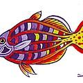 Boseman's Rainbowfish by Lori Ziemba