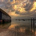 Bosham Storm by Graham Markham