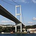Bosphorus Bridge Istanbul by Christiane Schulze Art And Photography