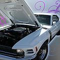 Boss 302 Mustang by Regina  Williams