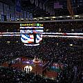 Boston Celtics Under The Star Spangled Banner by Juergen Roth
