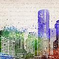 Boston City Skyline by Aged Pixel