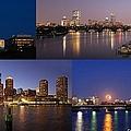 Boston City Skyline by Juergen Roth