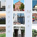 Boston Collage by Barbara McDevitt