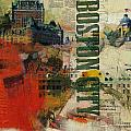 Boston Collage by Corporate Art Task Force
