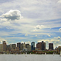 Boston Downtown Daytime by Mohammed Chioukh