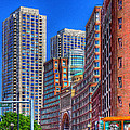 Boston Financial District by Rick Mosher