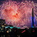 Boston Fireworks 1 by Mike Ste Marie