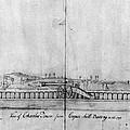 Boston Harbor, 1778 by Granger
