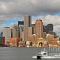 Boston Harbor  by Catherine Reusch Daley