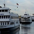 Boston Harbor Cruise Three In A Row by Jatinkumar Thakkar
