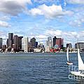 Boston Harbor by Denis Tangney Jr