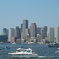 Boston Harbor July Fourth by Barbara McDevitt