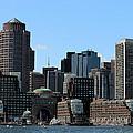 Boston Harbor by Vincent White