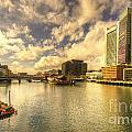 Boston Harbour  by Rob Hawkins