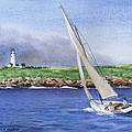 Boston Light by Karol Wyckoff