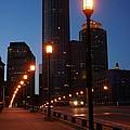 Boston Lights by Elena Alexandrova