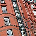 Boston Ma Building Facade by Staci Bigelow