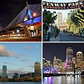 Boston Ma Collage by Toby McGuire
