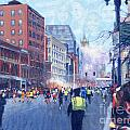 Boston Marathon Angels by Candace Lovely