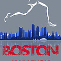 Boston Marathon3 by Joe Hamilton