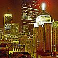 Boston Massachusetts Night Scene Digital Art by A Gurmankin