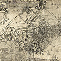 Boston Of British Dominion Map  1769 by Daniel Hagerman