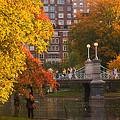 Boston Public Garden Lagoon Bridge by Joann Vitali