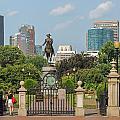 Boston Public Garden by Robert Mitchell
