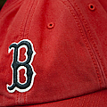 Boston Red Sox Baseball Cap by Susan Candelario