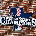 Boston Red Sox World Champions by Donna Doherty